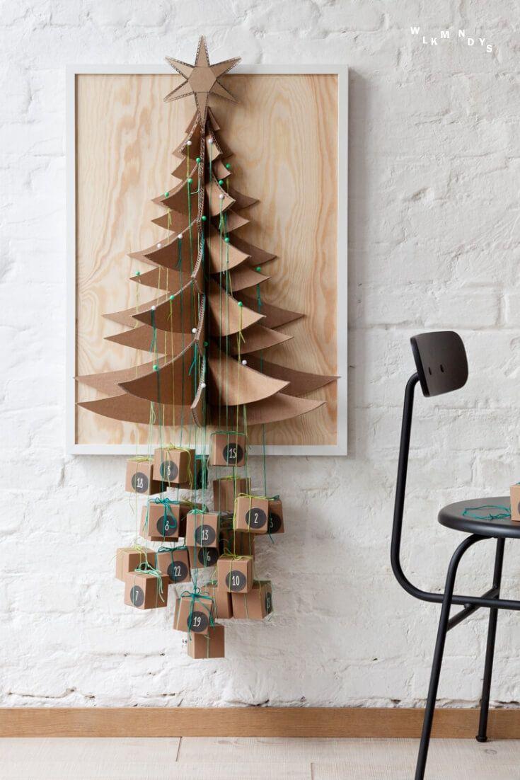 Päckchenbaum Adventskalender selber basteln – WLKMNDYS DIY Blog