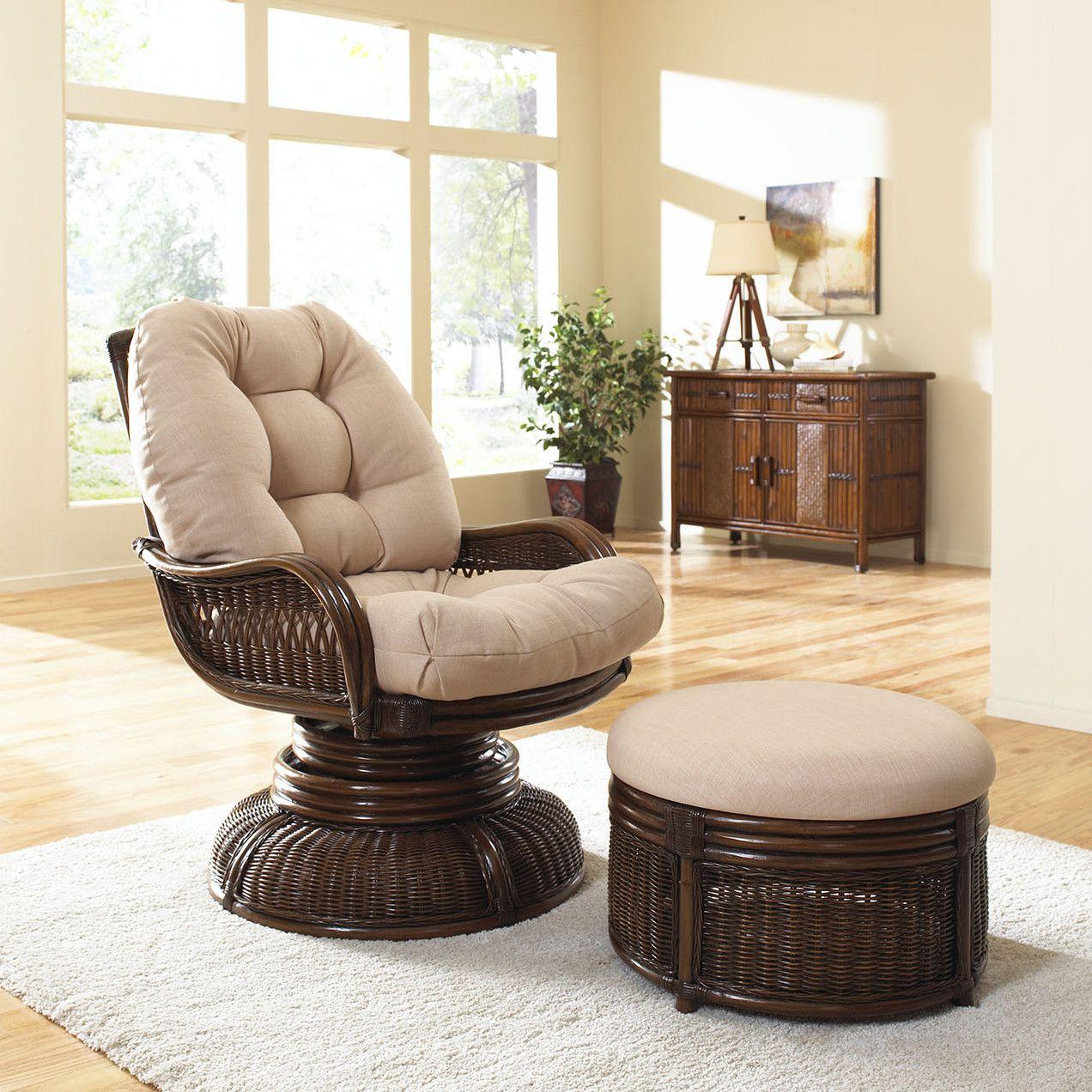 rattan accent chair indoor