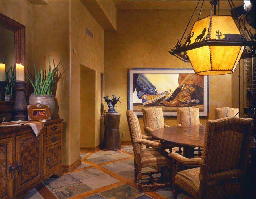 Image Of Elegant Southwestern Decor Home Decoracion Estilo