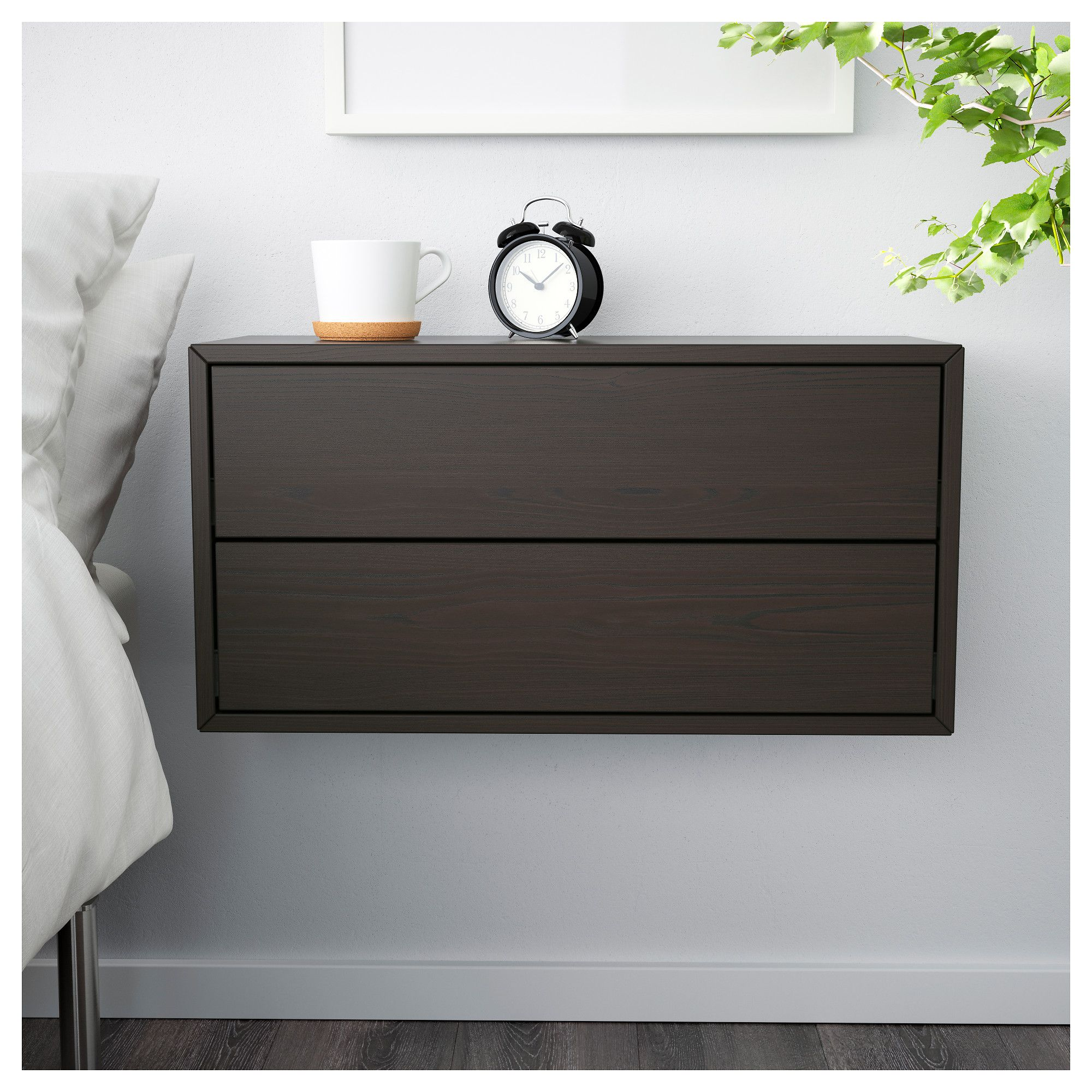 IKEA VALJE Wall Cabinet With 2 Drawers