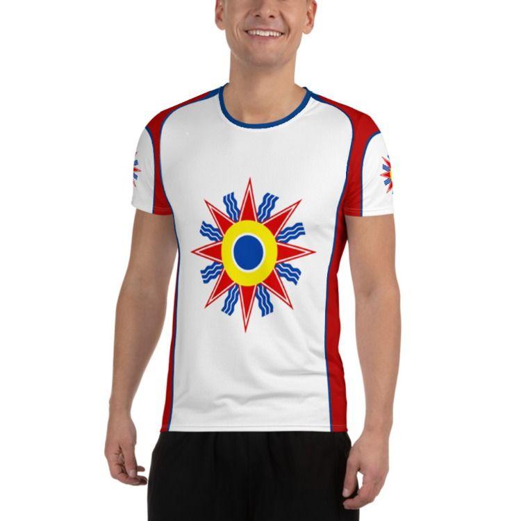 Chaldean Flag Shirt Chaldean Flag Athletic T Shirt Chaldean Shirt In 2020 Clothes Mens Tops Mens Tshirts