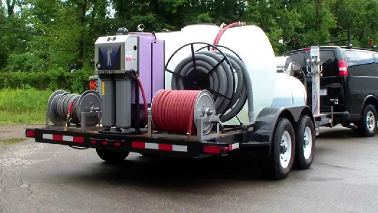 Extreme series commercial pressure washing & 2 step fleet