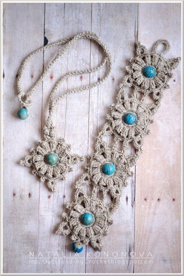 Outstanding Crochet   Projects to Try   Pinterest   Collares ...