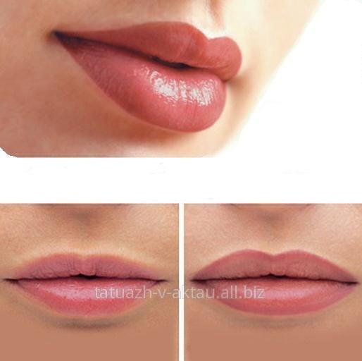 Сродна слика Lip permanent makeup, Permanent lipstick