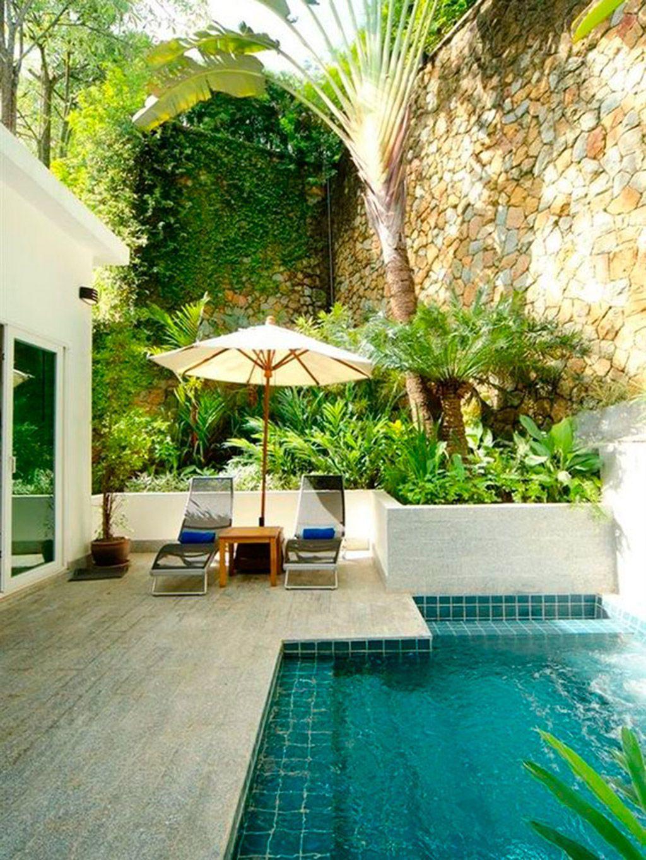+30 Jardines con piscinas de ensueño Pequeñas piscinas