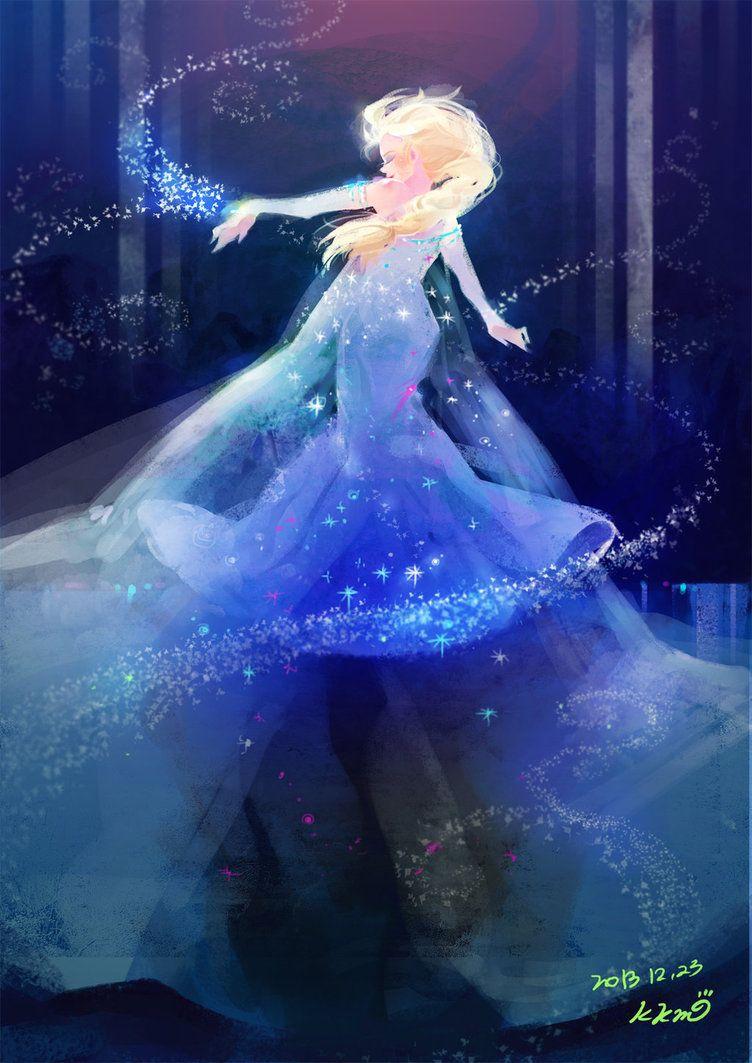 Frozen_elsa by KimKM on DeviantArt
