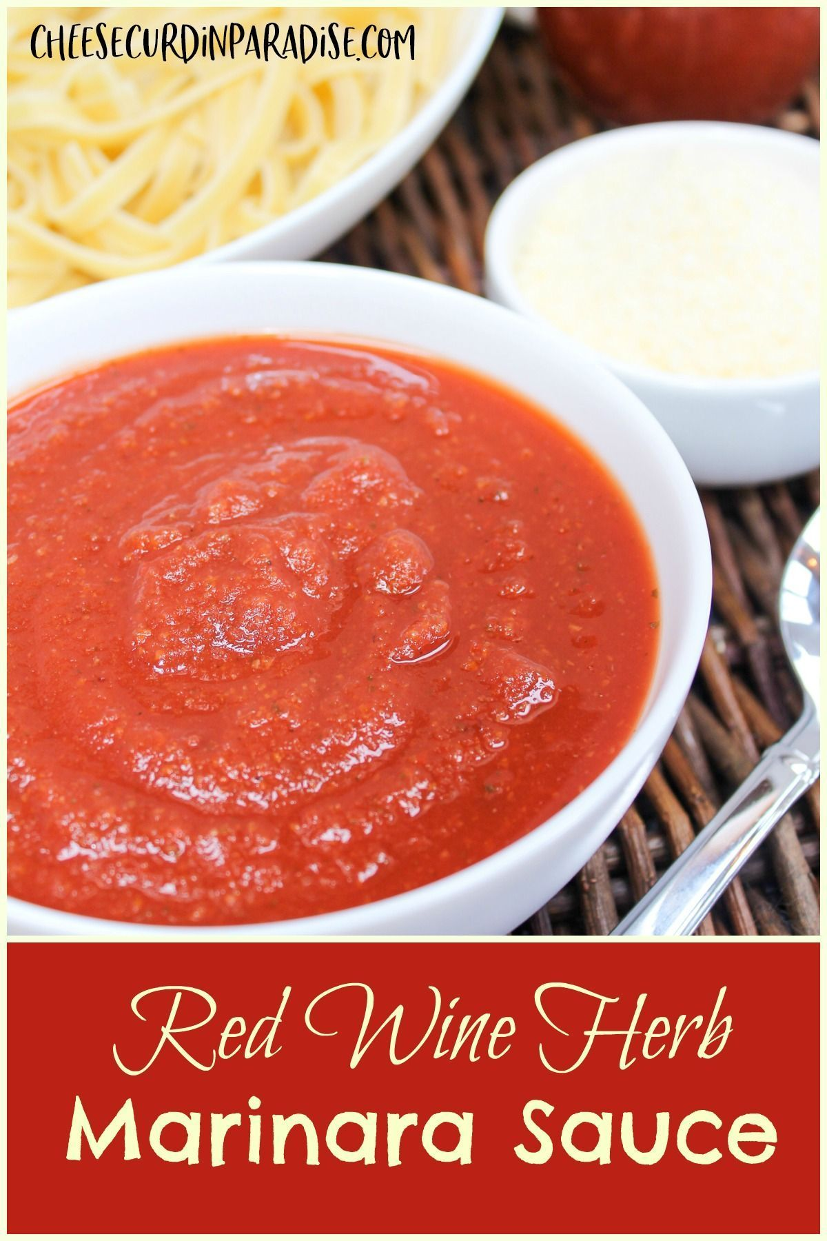 Red Wine Herb Marinara Sauce Recipe In 2020 Recipes Easy Dinner Recipes Canning Whole Tomatoes
