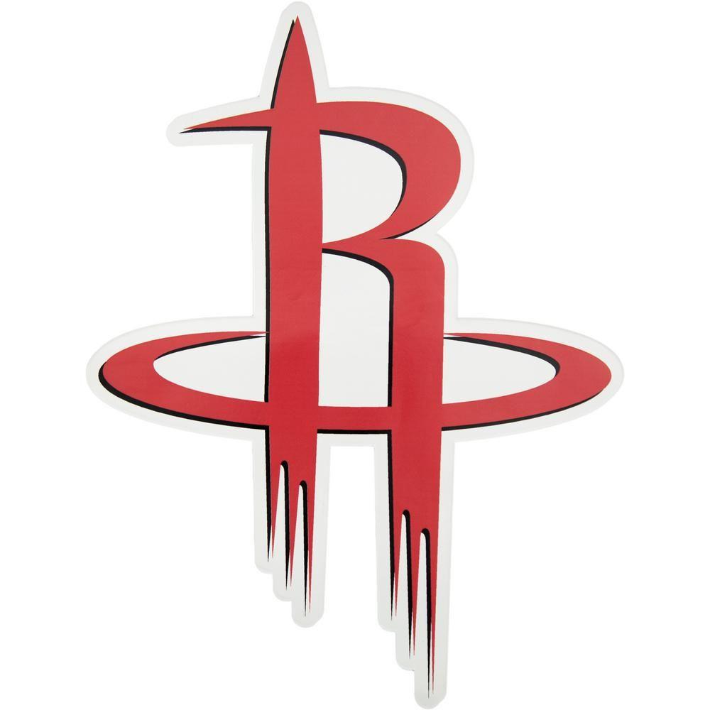 Applied Icon Nba Houston Rockets Outdoor Logo Graphic Large Red Rockets Logo Nba Houston Rockets Houston Rockets