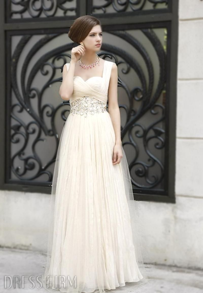 My wedding my dress  Evening gown  My wedding  Pinterest  Empire Prom and Special
