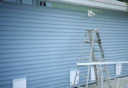 How To Paint Vinyl Siding Vinyl Siding Vinyl Siding House House Painting