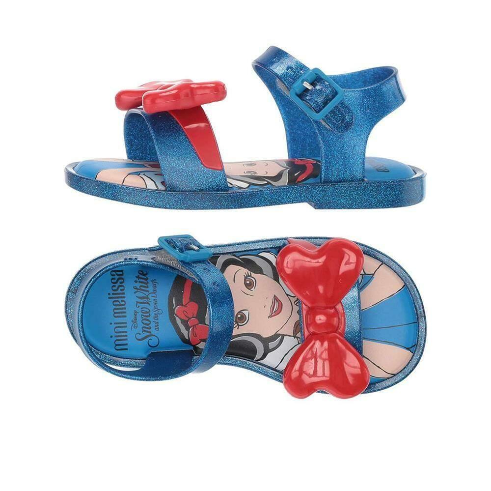5bdc22e4 eBay Sponsored) NEW Mini Melissa Toddler Mini Mar Snow White Sandals ...