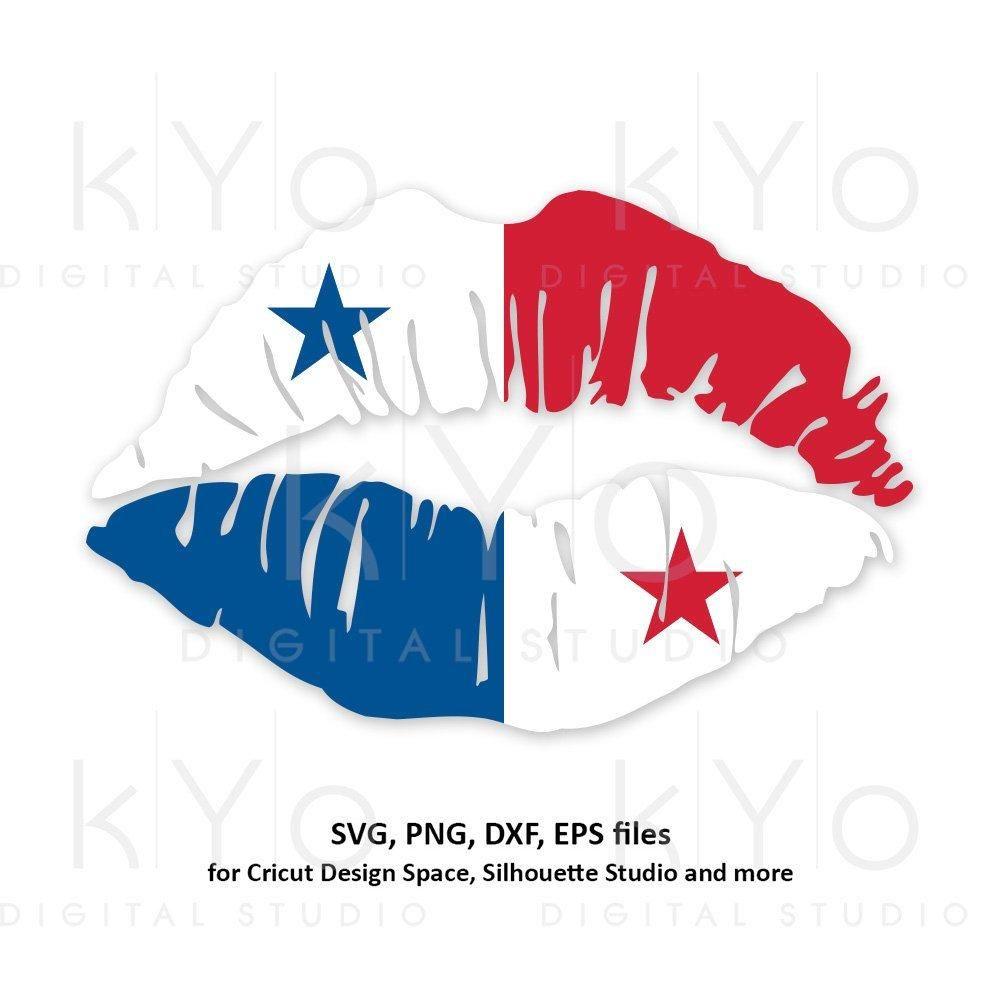 Panama Flag Girl Lips Svg Panamanian Flag Shirt Svg Panama Girl Shirt Design Svg Files For Cricut Silhouette Png Clipart Dxf Files In 2021 Panama Flag Panamanian Flag Flag