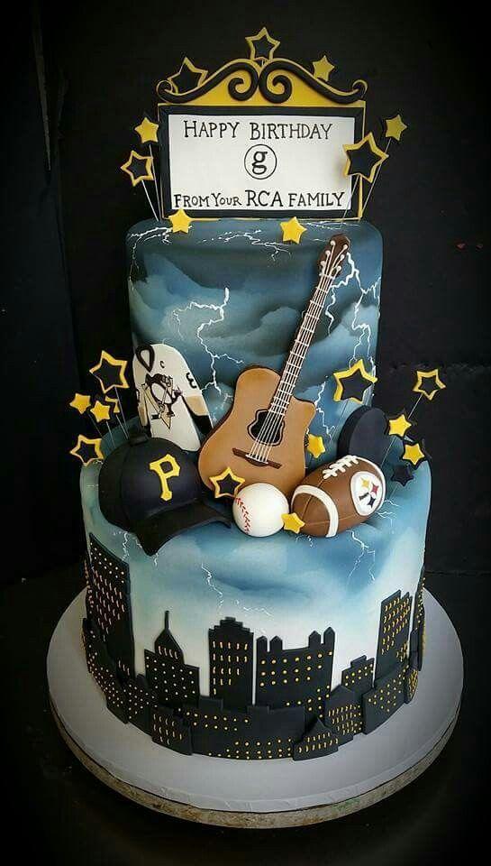 Garth Brooks Birthday Cake From Oakmont Bakery Pittsburgh