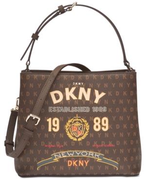 2e5c730f7eb995 DKNY SMALL SIGNATURE BUCKET BAG.  dkny  bags  bucket