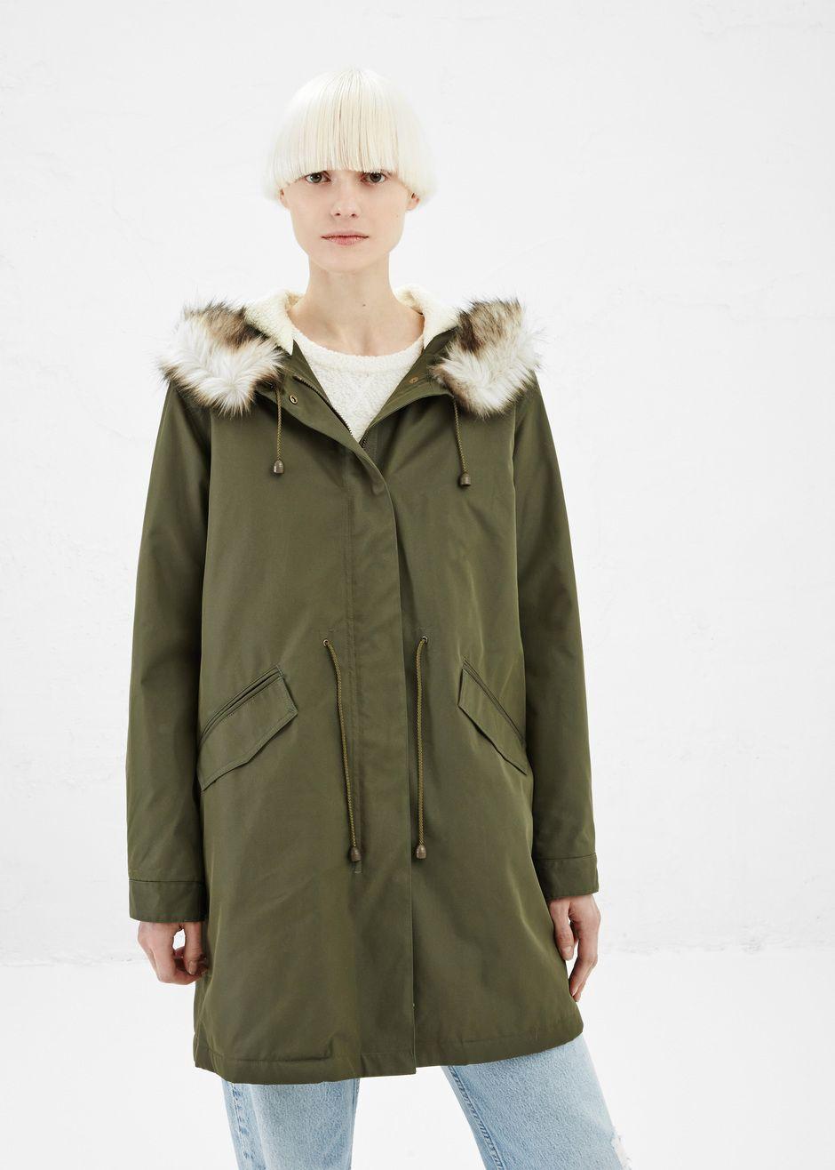 A.P.C. New Mod Parka (Khaki Green) | $$$TUFF | Pinterest | Khakis ...