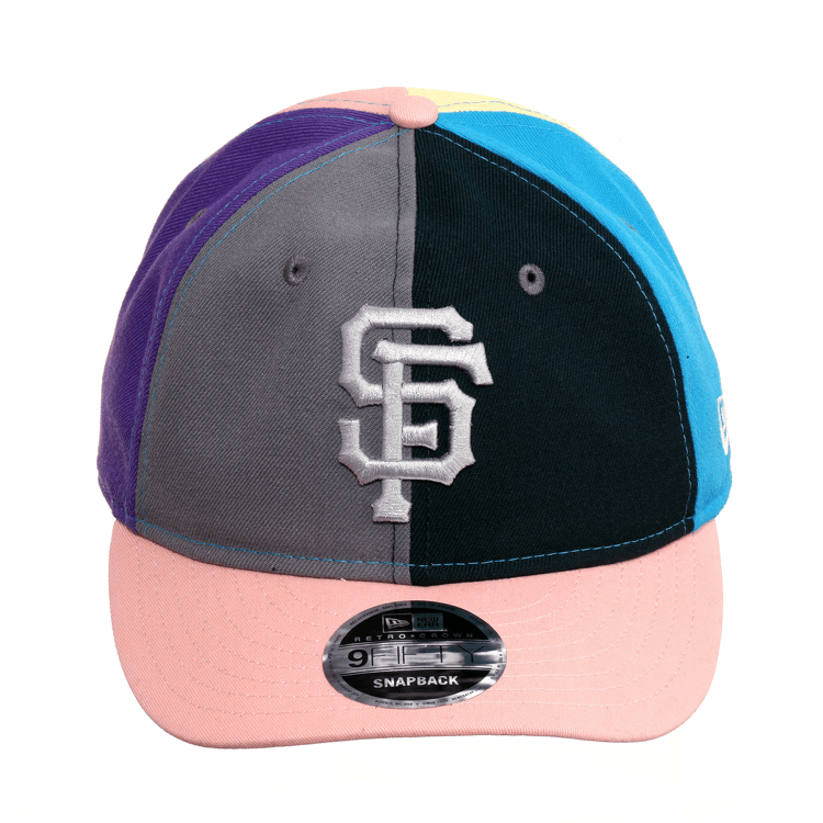 Exclusive New Era 9fifty San Francisco Giants Retro Crown Hat Graphi Hat Club Crown Hat San Francisco Giants Pink Visor