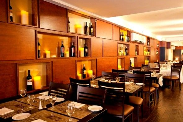 Fine Dining Restaurants Restaurants In Nyc Restaurant Interior Design Restaurant Interiors Glass Houses New York City Wine Storage Hospitality Design ... & Contemporary-Restaurant-Wine-Storage-Furniture-Design-Glass-House ...