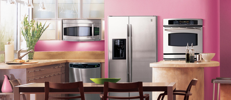Pink Kitchens Kitchen Photo Gallery Pink Kitchen Pink Kitchen Appliances Pink Kitchen Designs Kitchen Gadgets Unique