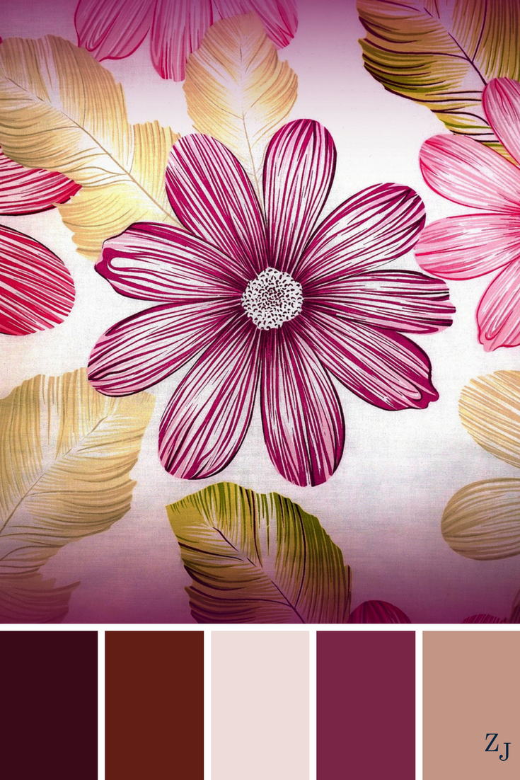 ZJ Colour Palette 541 #colourpalette #colourinspiration | Color ...