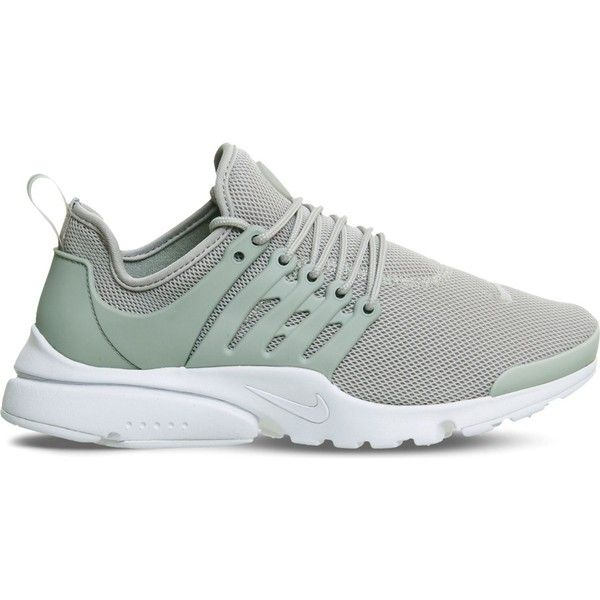 huge discount c64d0 1313c Nike Air Presto mesh trainers ( 94) ❤ liked on Polyvore featuring shoes,  nike footwear, olive shoes, army green shoes, light weight shoes and  lightweight ...