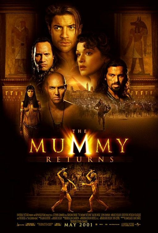 The Mummy Returns 2001 A Great Action Adventure Comedy Not As