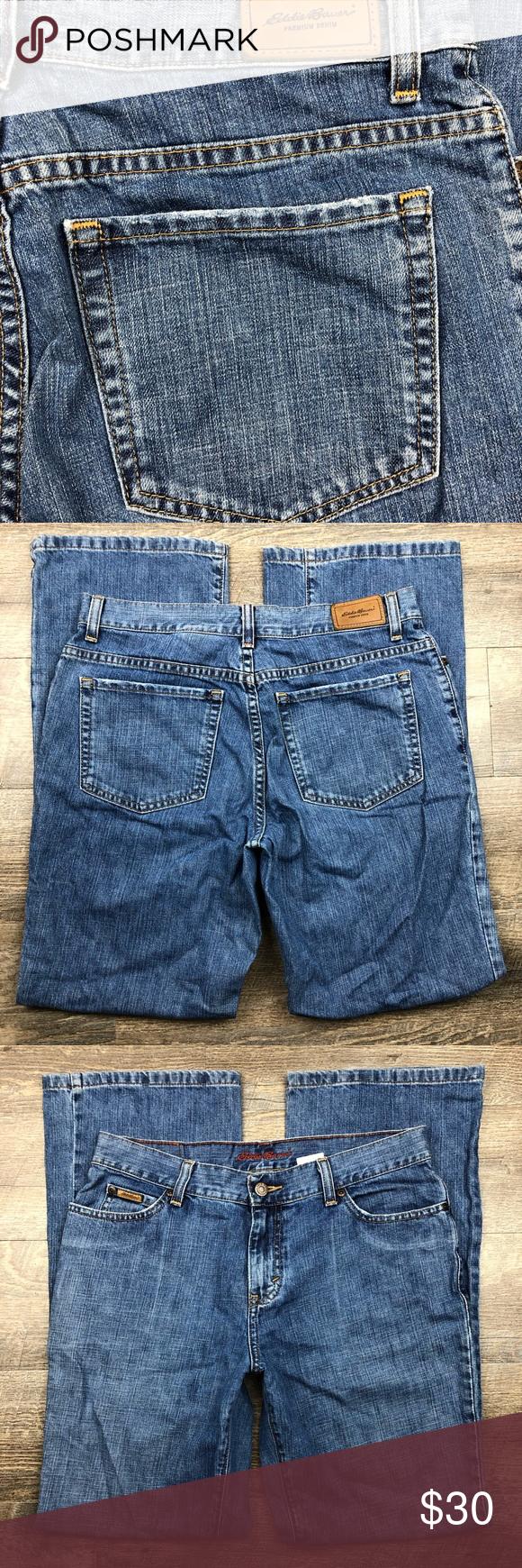 Eddie Bauer Womens Bootcut Jeans Size 10 31x30 Eddie Bauer