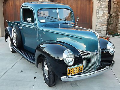 Ebay 1940 Ford Other Pickups Pickup Truck 1940 Ford Pickup Truck