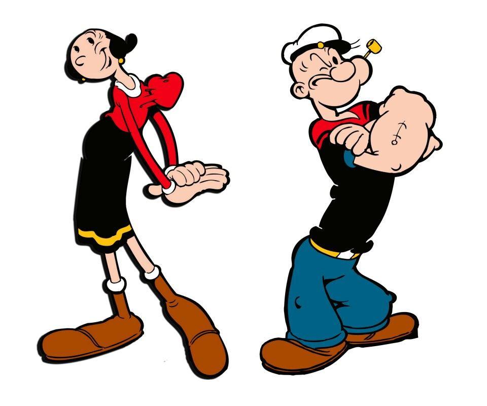 Popeye And Olive Oil Popeye And Olive Popeye The Sailor