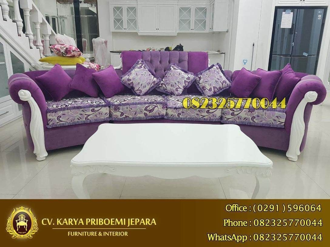 Sofa Keluarga Mewah Barcelona Modern