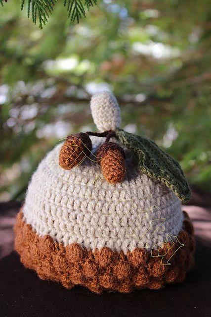 Ravelry: Acorn Baby Hat pattern by Tanja Enzinger