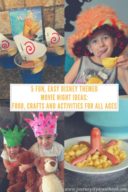 5 easy disney movie themed nights