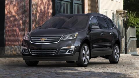Build Your Own Crossover SUV 2014 Chevy Traverse Chevrolet SUV - resumen 8 millas