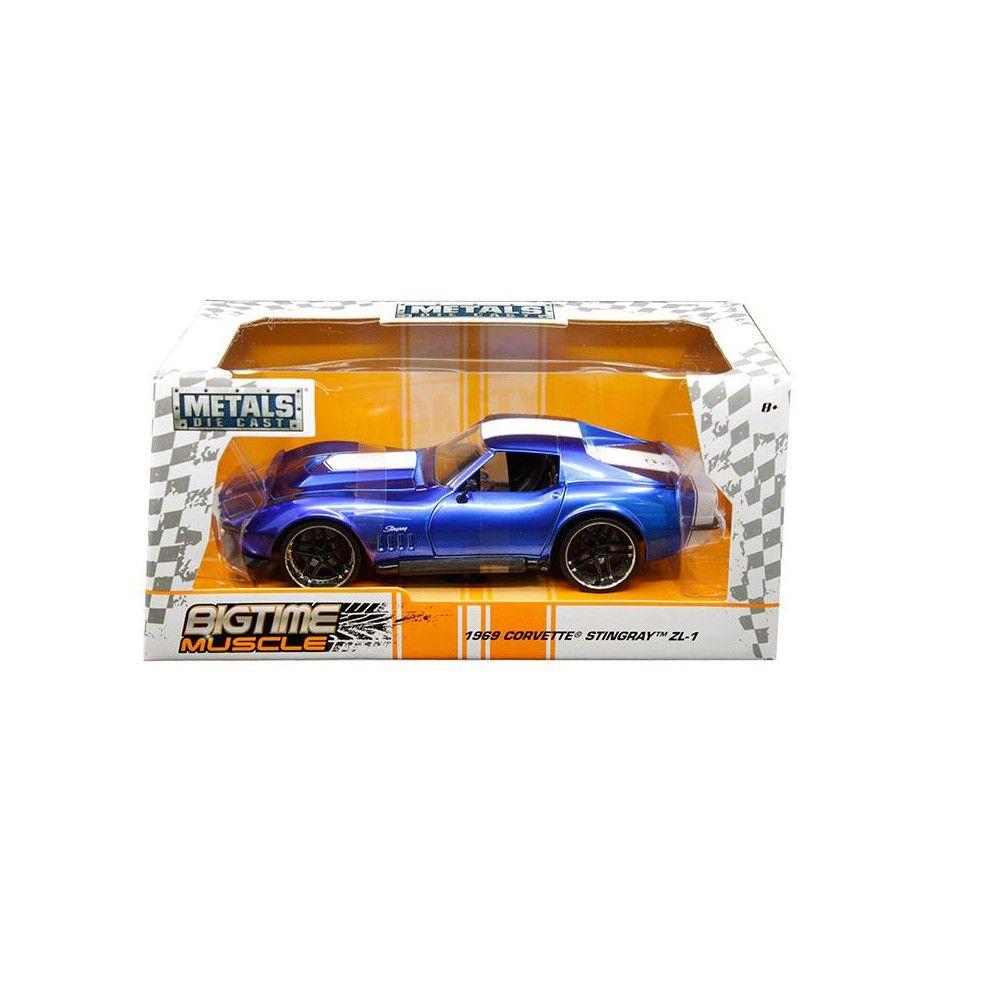 1969 Chevrolet Corvette Stingray ZL 21 Blue with White