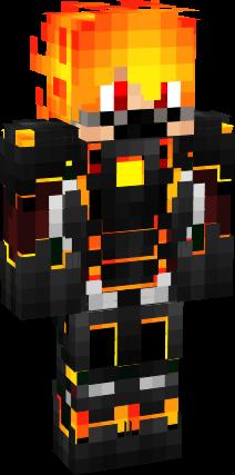 3D Fire Man   Nova Skin   Minecraft skins   Pinterest   Minecraft ... 4fd3a4a166