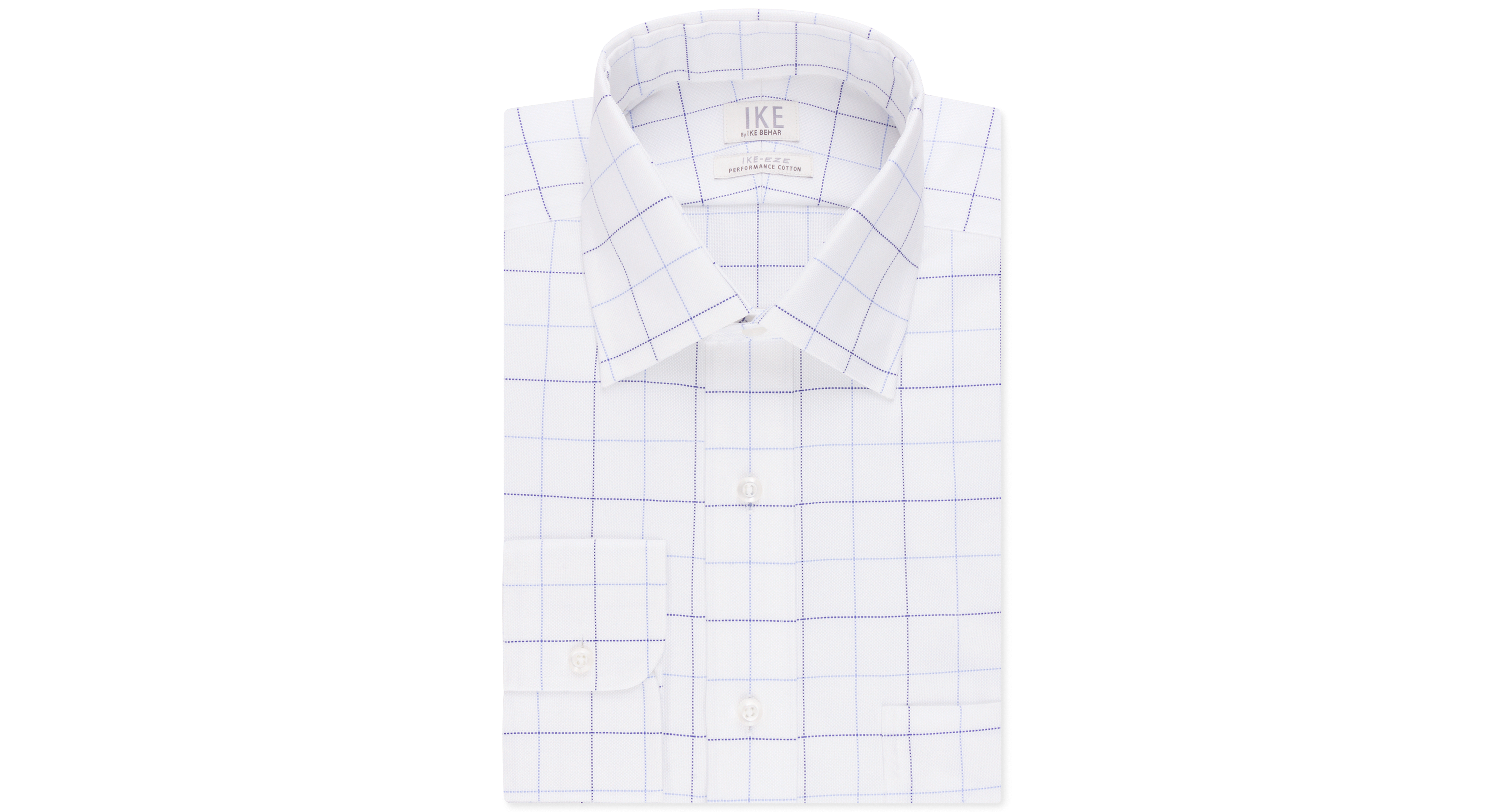 Ike by Ike Behar Non-Iron Performance Pacific Check Dress Shirt