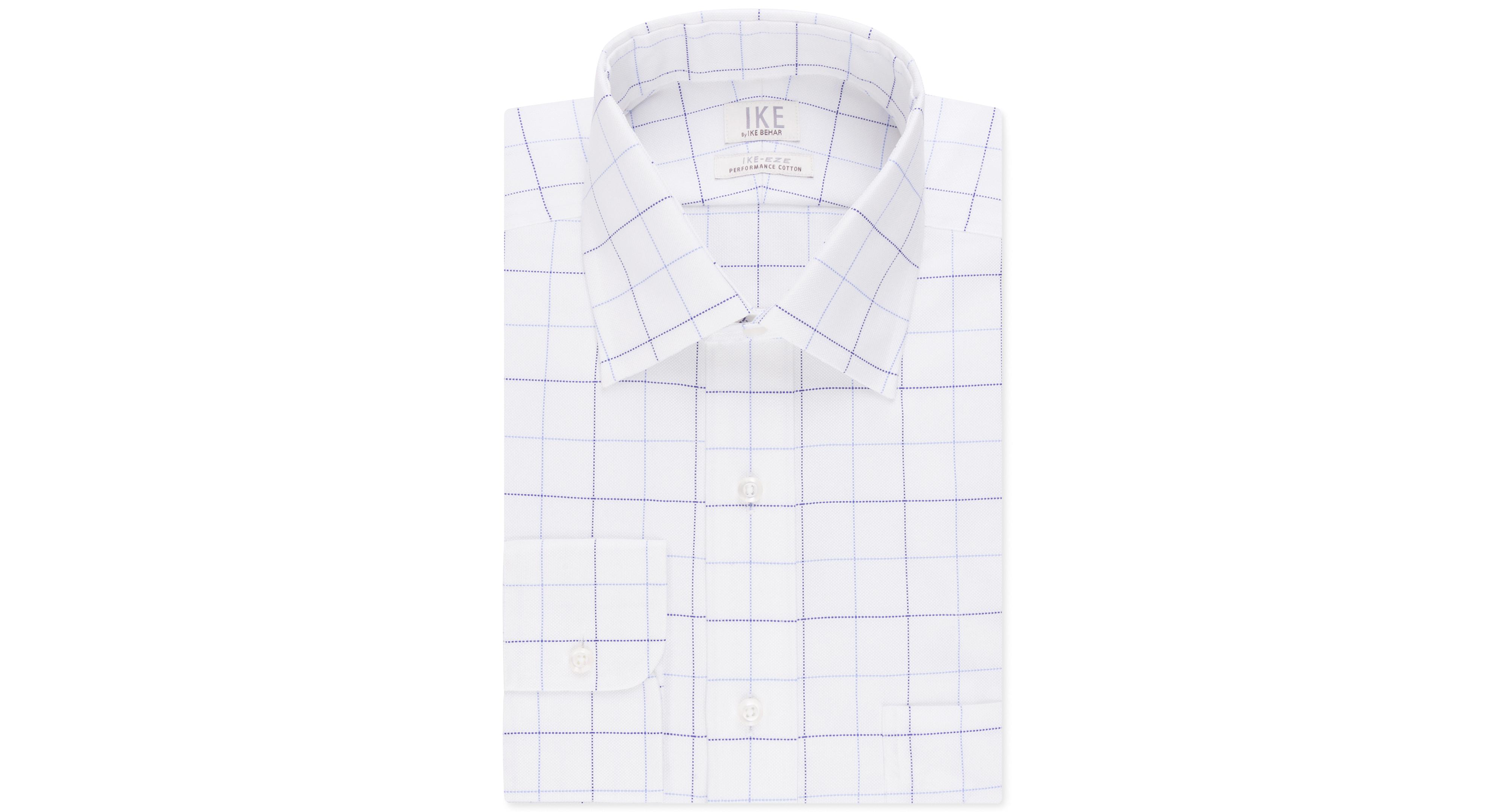Ike by Ike Behar Non-Iron Performance Pacific Check Dress Shirt