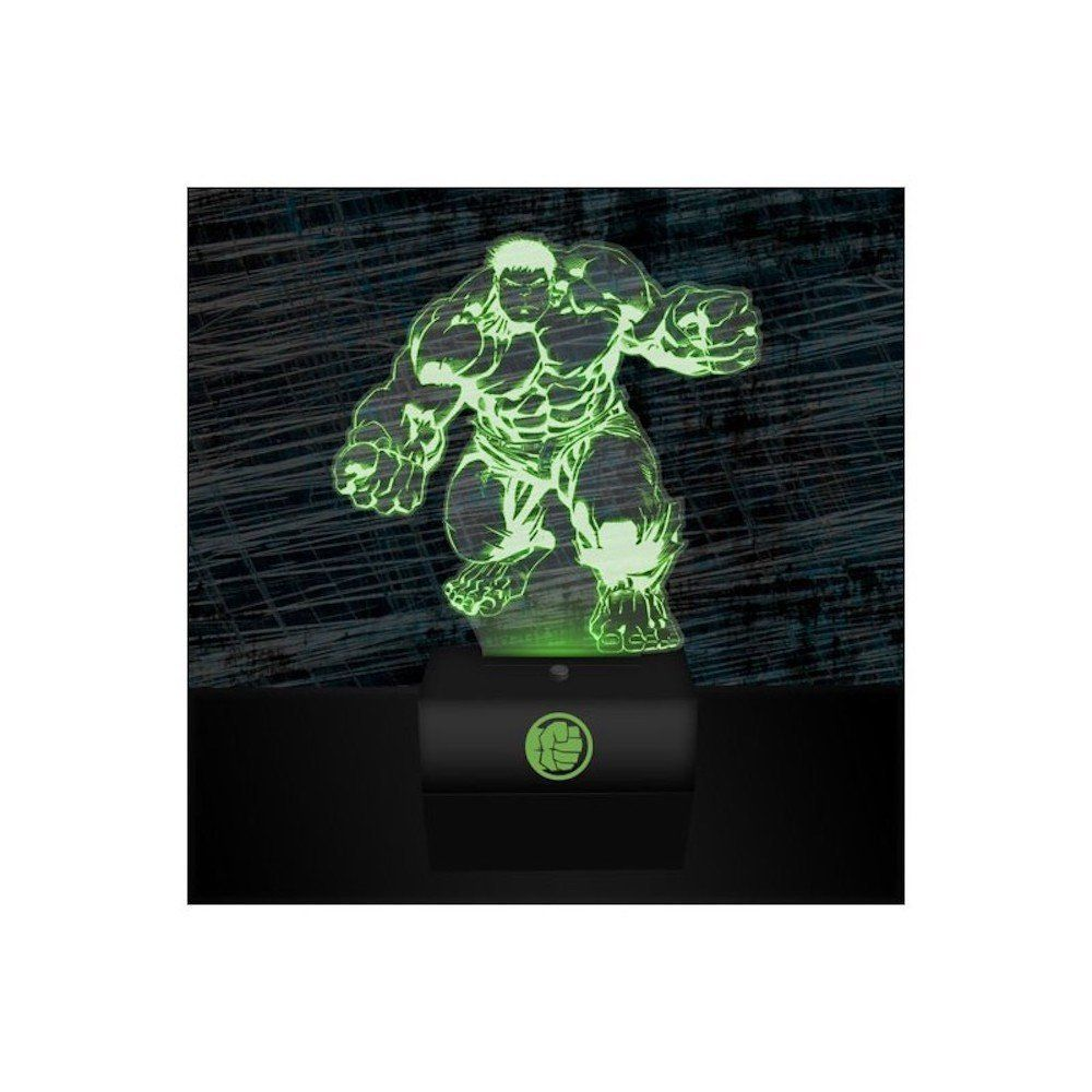 Hulk Smash Tischlampe Marvel Comics Avengers Tolle Dekoration Fur Superhelden Fans Die 3d Led Hologramm Lampe Ist Ein Ech Marvel Comics Avengers Marvel