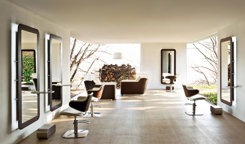 Eco Friendly Hair Salon Furniture By Stefano Giovannoni