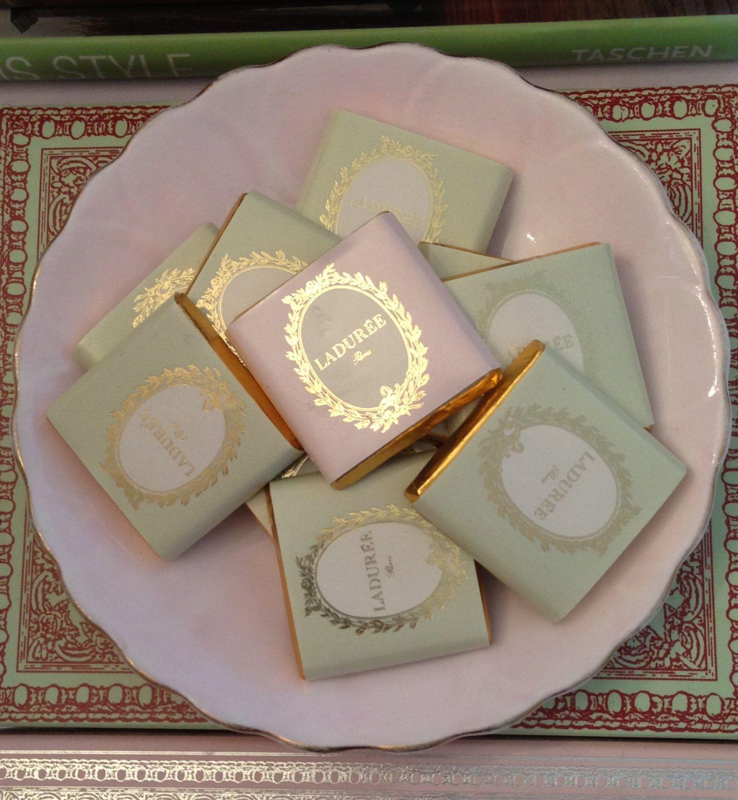 Laduree chocolates! I got mine from Laduree Harrods! :)