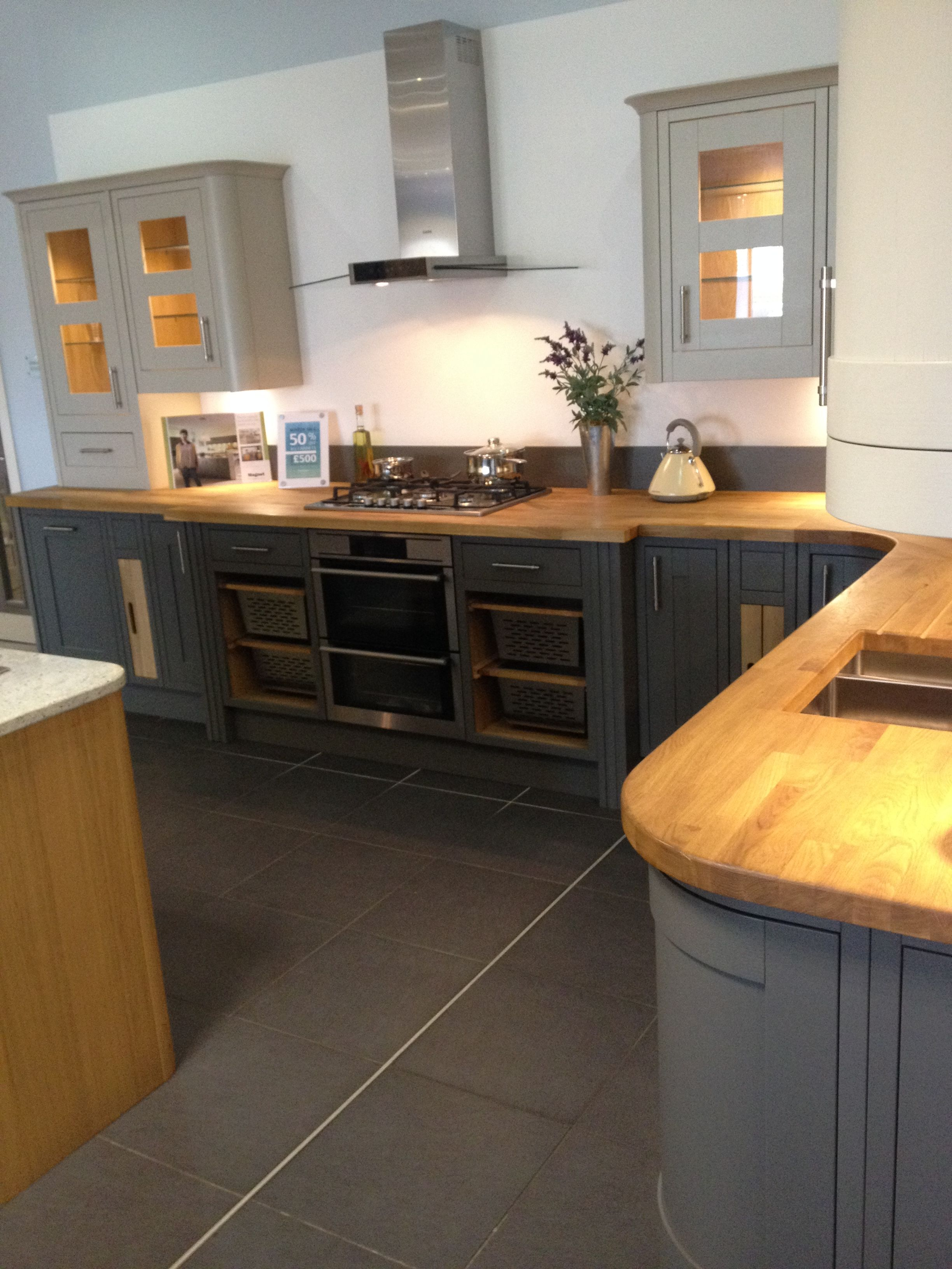 somerton sage & somerton fern kitchen from magnet | best home