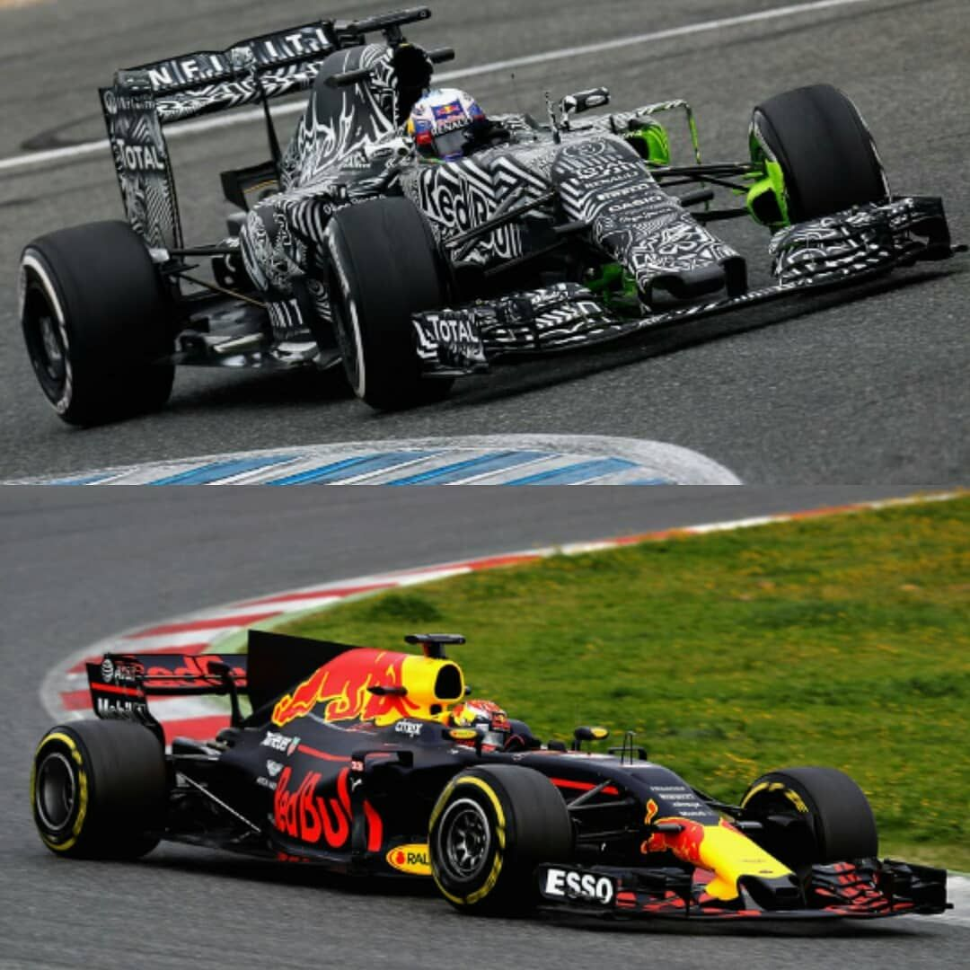 Which one your favorite Red Bull livery ? or ? #f1 #formula1 ...