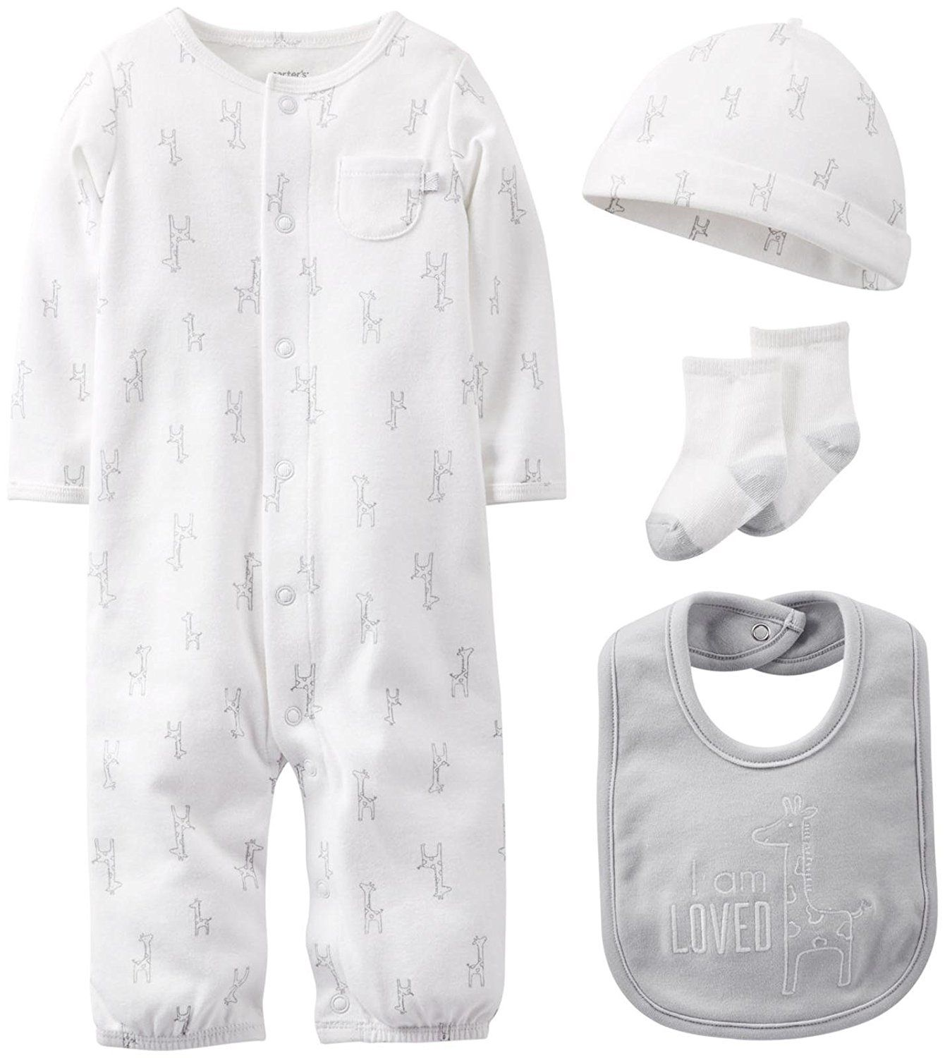 Carter s Uni Baby 4 piece Take Me Home Layette Set Quickly