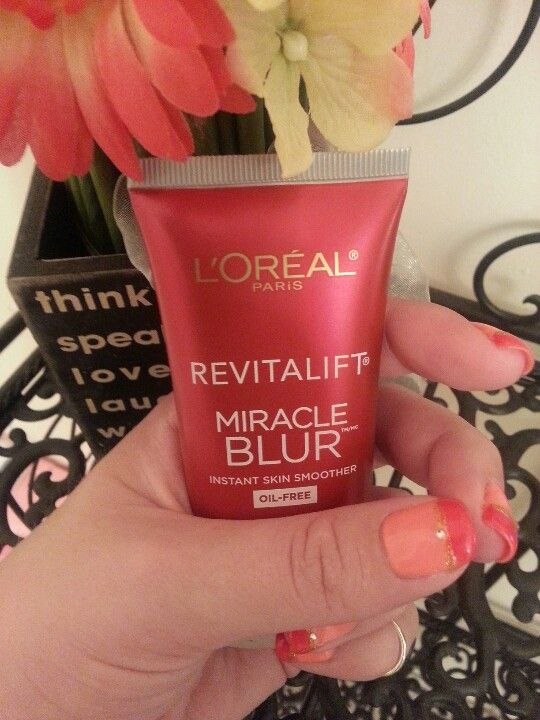 I love to use L'oreal miracle blur as a primer. Love the way it feels.