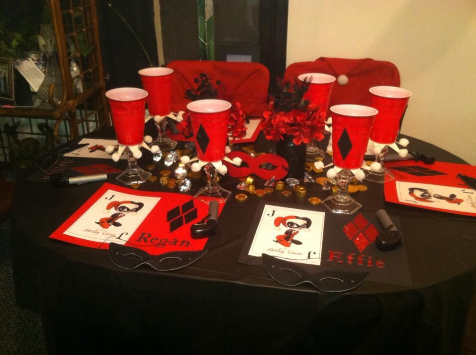 Harley Quinn Birthday Party Pic 1 Enchanted Events By