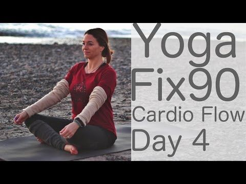 Yoga Cardio Flow Day 4 Yoga Fix 90 with Lesley Fightmaster