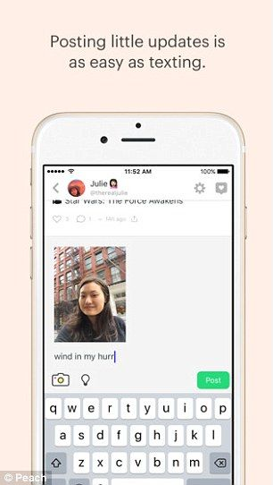 A fresh idea? Peach app lets you use 'magic words' to share