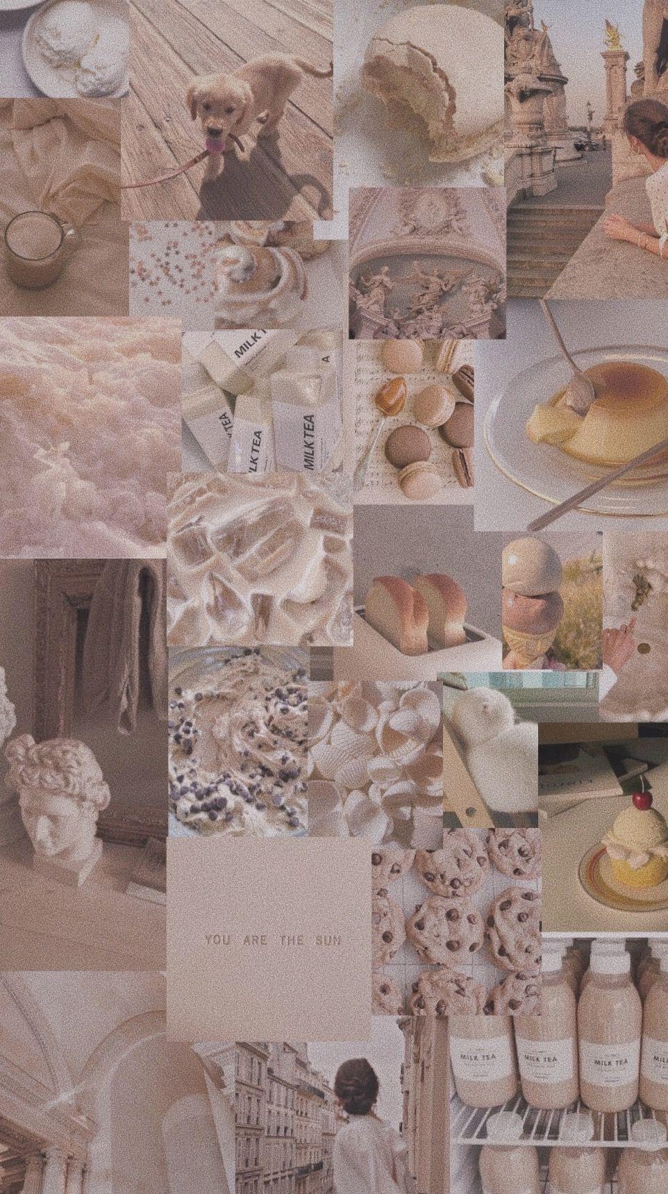 Cream Aesthetic Wallpaper Aesthetic Wallpapers Aesthetic Pastel Wallpaper Cream Aesthetic