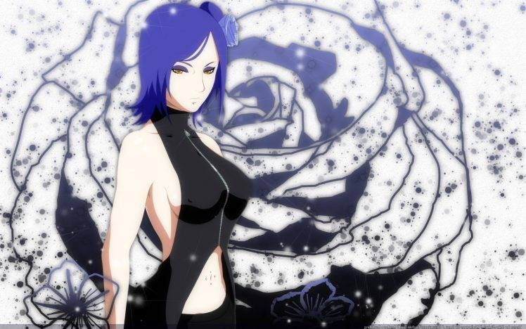 Naruto Shippuden Konan Hd Wallpaper Konan Anime Flowers Blue Hair Wallpapers Hd Desktop And Na In 2020 Hd Anime Wallpapers Cute Anime Wallpaper Anime Wallpaper Phone