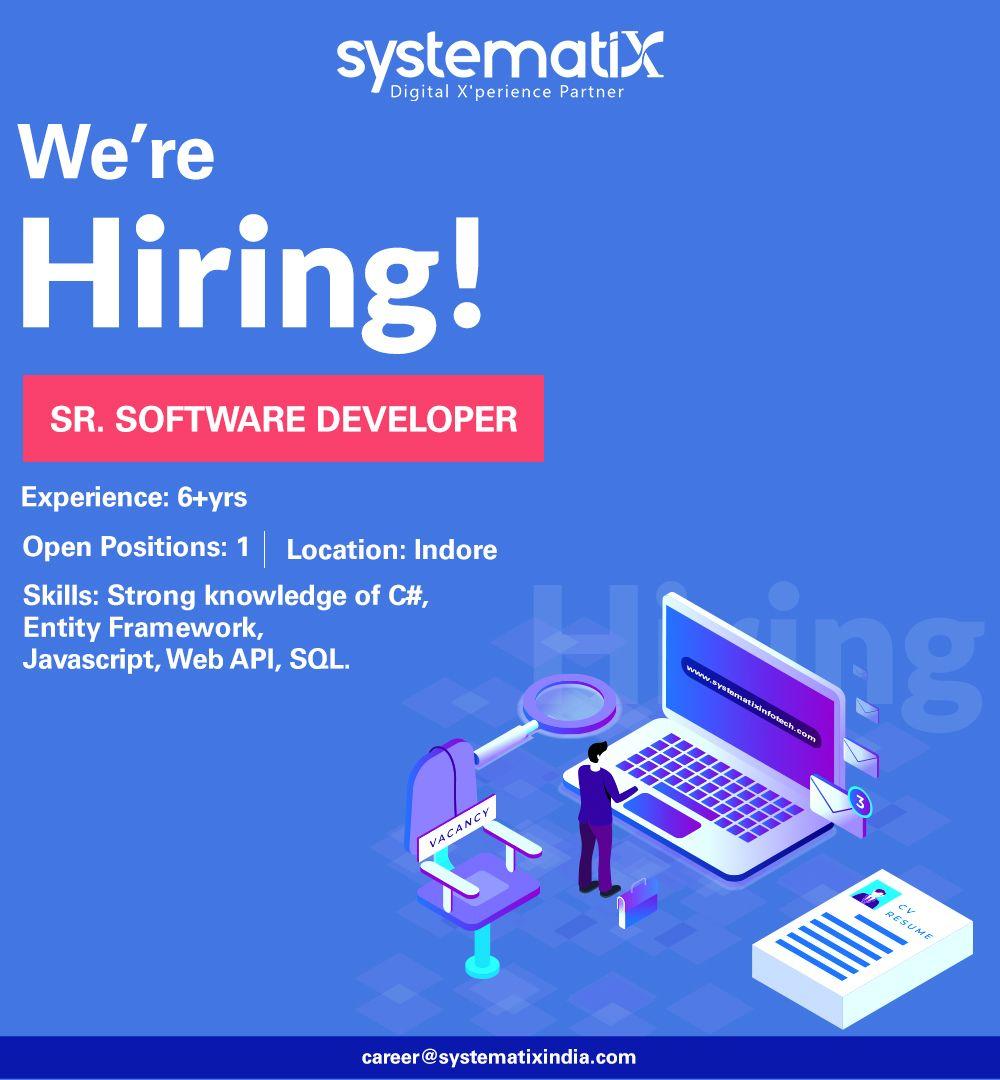 Hiring sr software developer in 2020 software