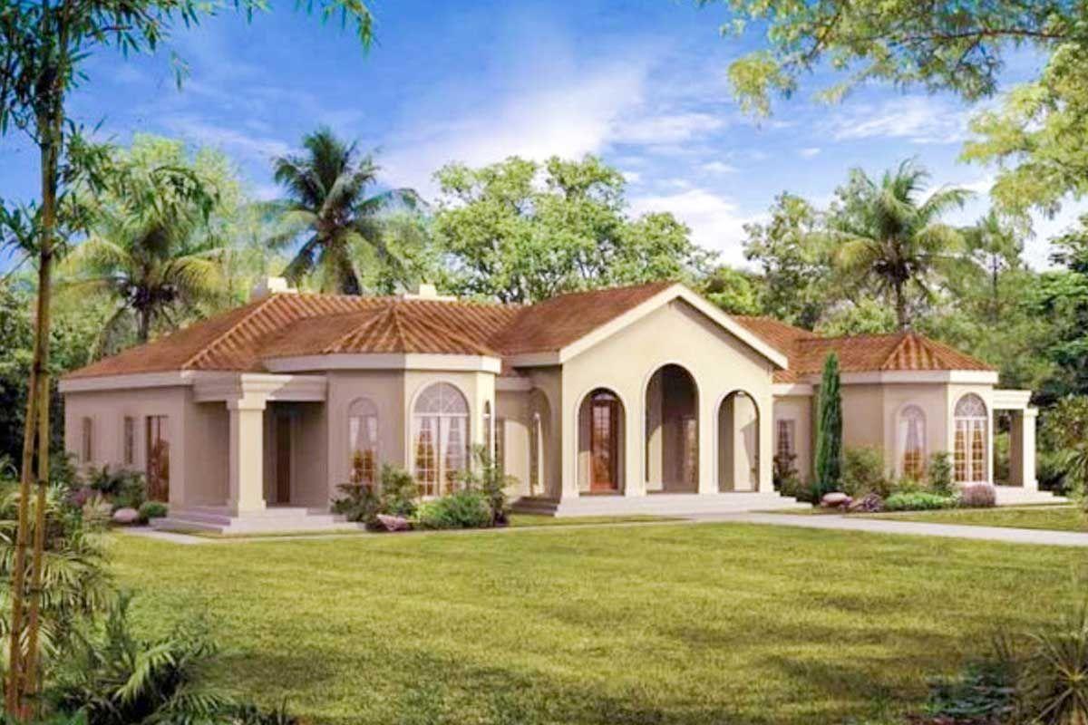 Plan 81309w Mediterranean Oasis Mediterranean House Plans Mediterranean Style House Plans Mediterranean Homes